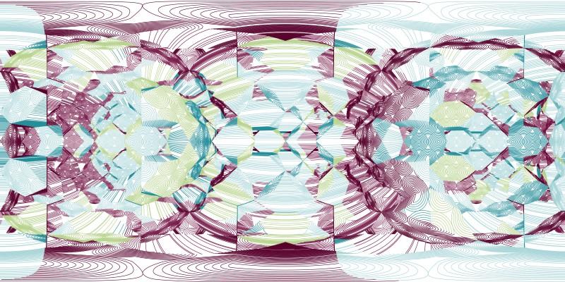 Hexagons Circlepack