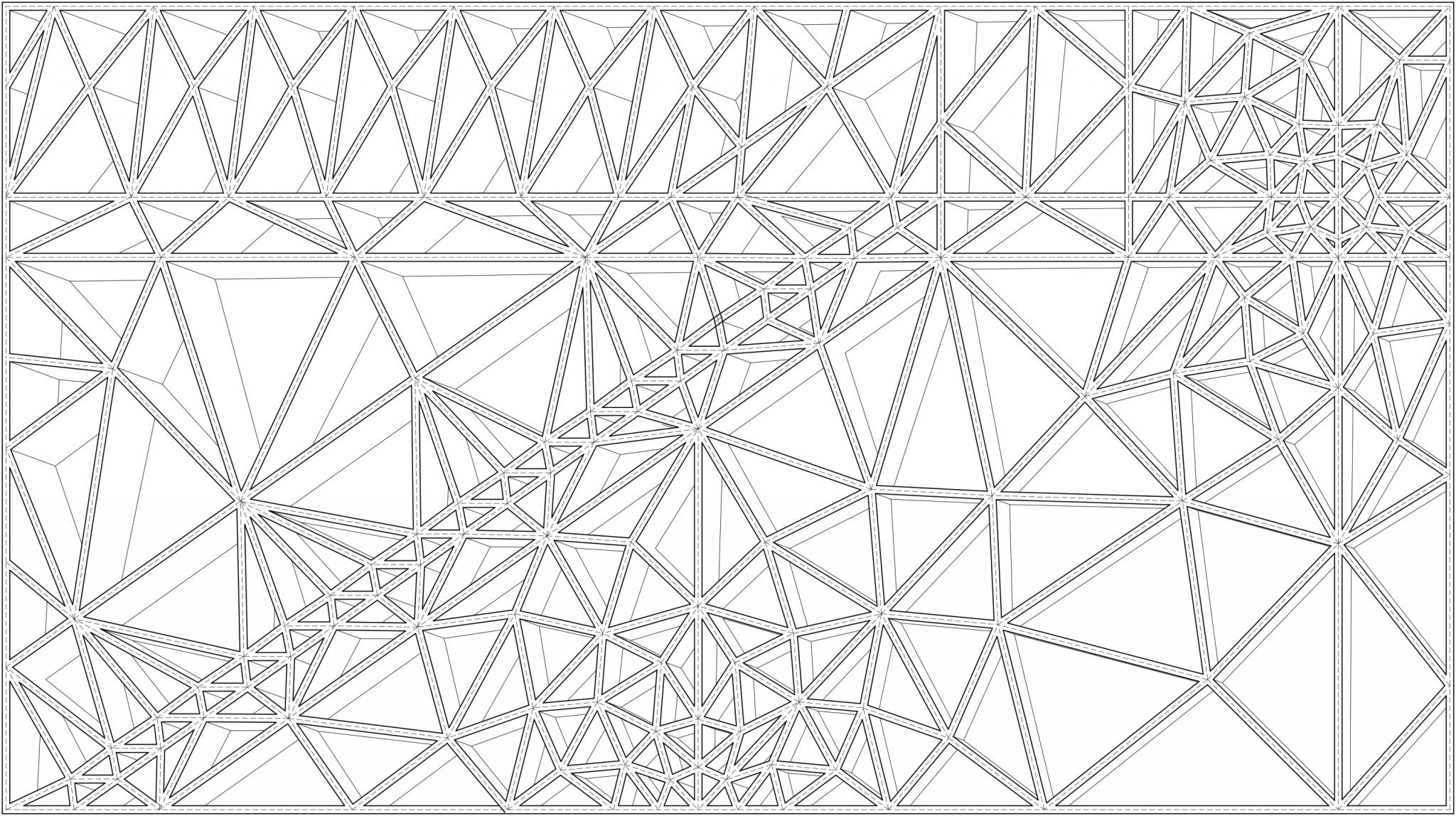 Stack Pattern black