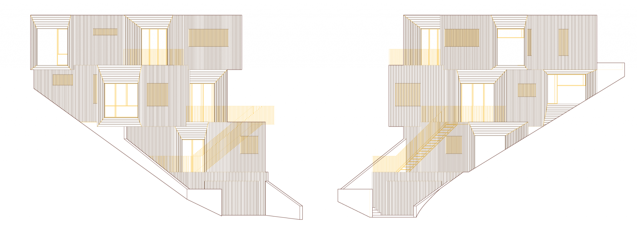 Stack House Elevations
